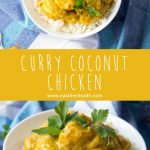 Curry Coconut Chicken - Aromatic curry coconut chicken nutritionally enriched with pumpkin puree.