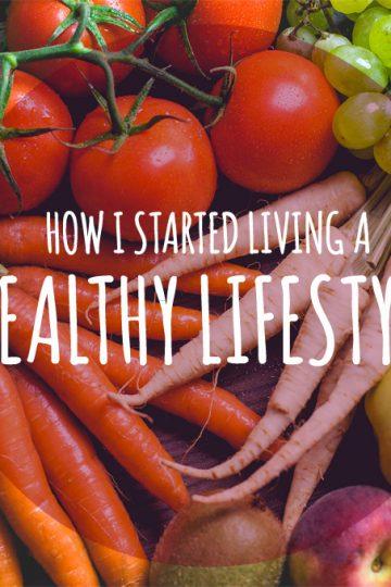 How I started living a healthy lifestyle | www.natalieshealth.com