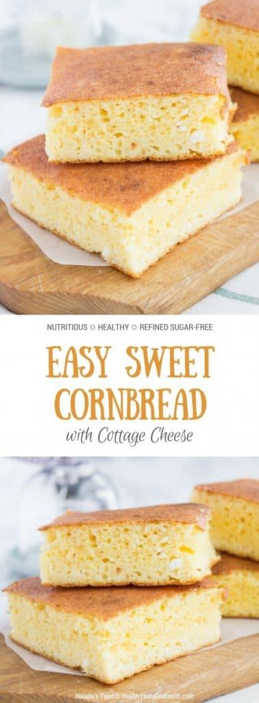 easy homemade cottage cheese cornbread natalie s happy health rh natalieshealth com broccoli cottage cheese cornbread muffins jiffy cottage cheese cornbread