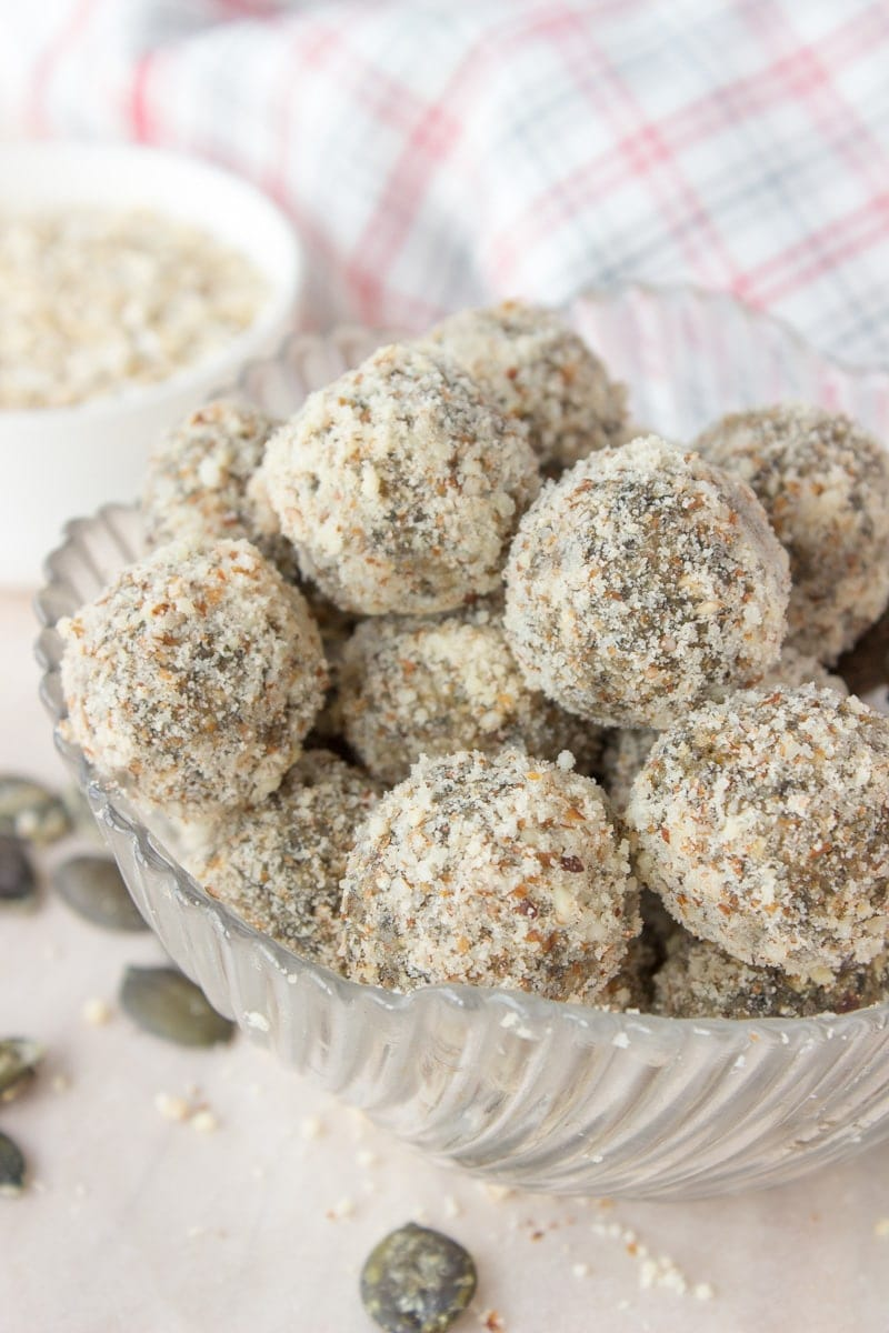 Pumpkin Seeds Energy Balls