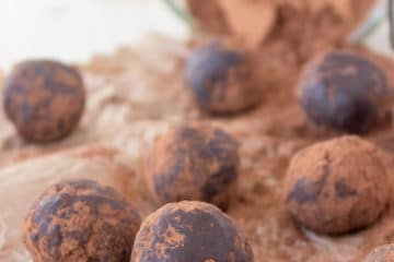 Chocolate Cinnamon Balls