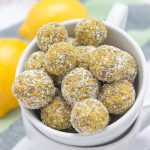 Lemon Turmeric Energy Balls