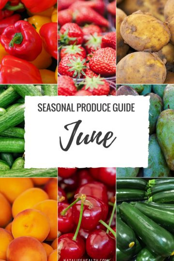 What's in Season JUNE Produce Guide