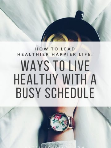 It can be hard to improve your health when you're busy. But the key is to MAKE TIME and dedicate it to create healthy daily habits that will make your life HEALTHIER and HAPPIER. If you're looking for some inspiration on how to lead a healthy life even if you're busy, read on. #work #lifestyle #health #healthy #positive #fit #motivation #tips #family #life   natalieshealth.com
