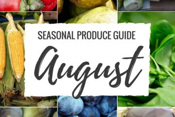 Seasonal Produce Guide What's in Season AUGUST is a collection ofthe best fruits, veggies, and recipes for the month of August. #SUMMER #SEASONAL #FRUITS #VEGGIES #GUIDE | natalieshealth.com