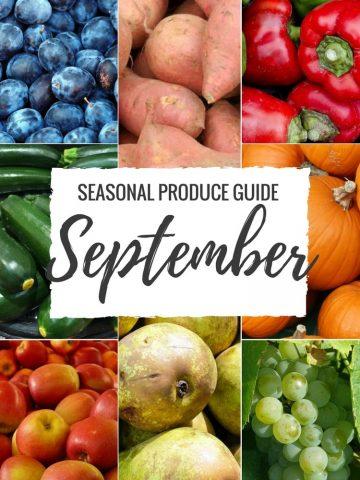 Seasonal Produce Guide What's in Season SEPTEMBER