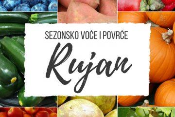Ilustrirani vodič za voće i povrće koje je trenutno u sezoni SRPANJ sa sezonskim receptima. Jer jesti sezonski znači jesti ZDRAVO.