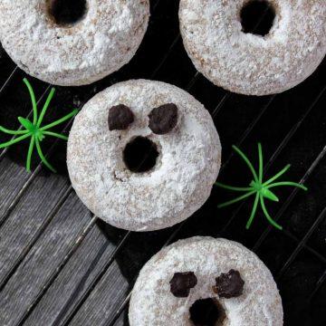 Halloween Ghost Donuts