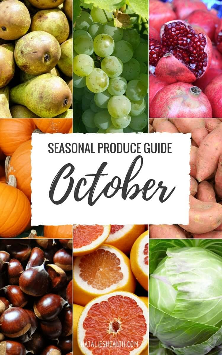 "Produce Guide ""What's in Season OCTOBER"""