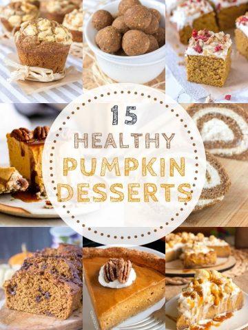 15 Healthy Pumpkin Desserts