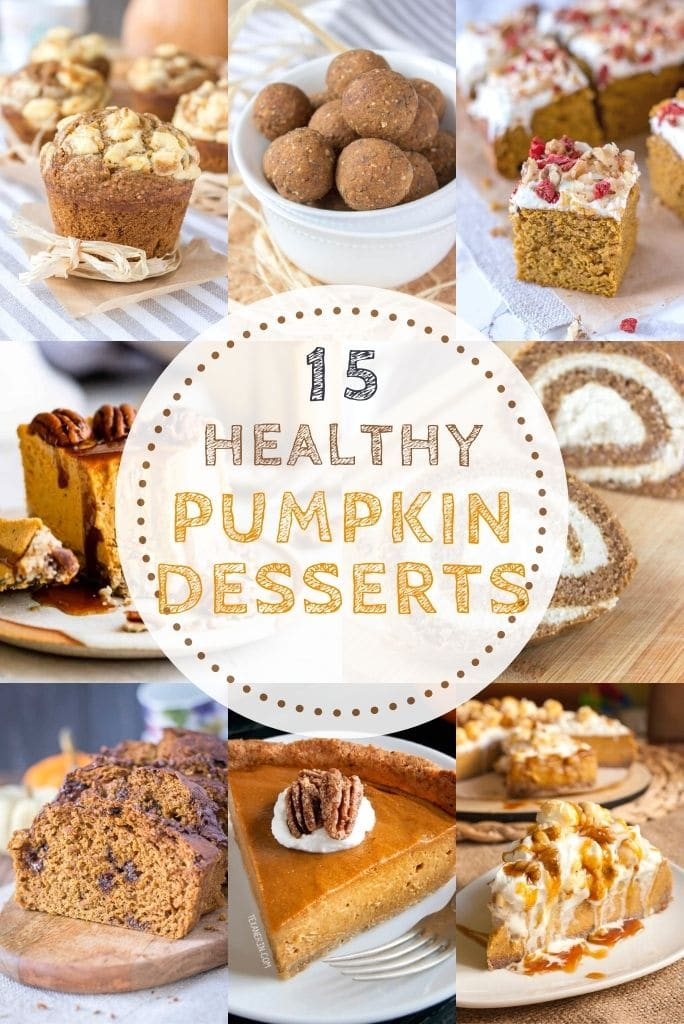 15 Healthy Pumpkin Desserts