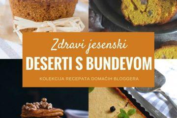 Zdravi deserti s bundevom