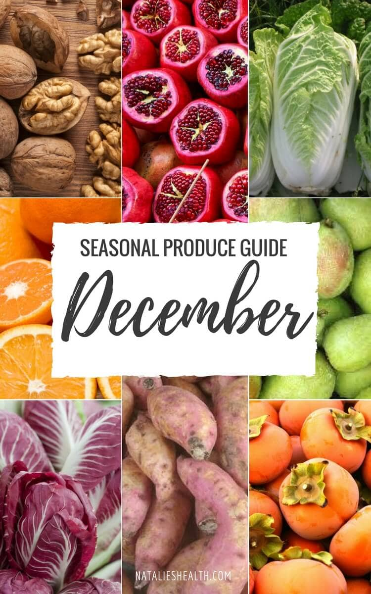 What's in season? January produce guide cookie and kate.