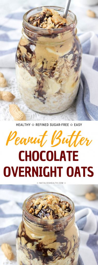 Peanut Butter Maca Overnight Oats