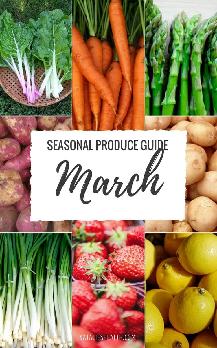 "Produce Guide ""What's in Season MARCH"""