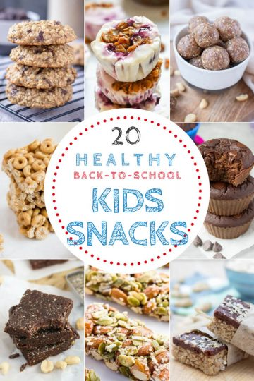 20 Back To School Healthy Kids Snacks