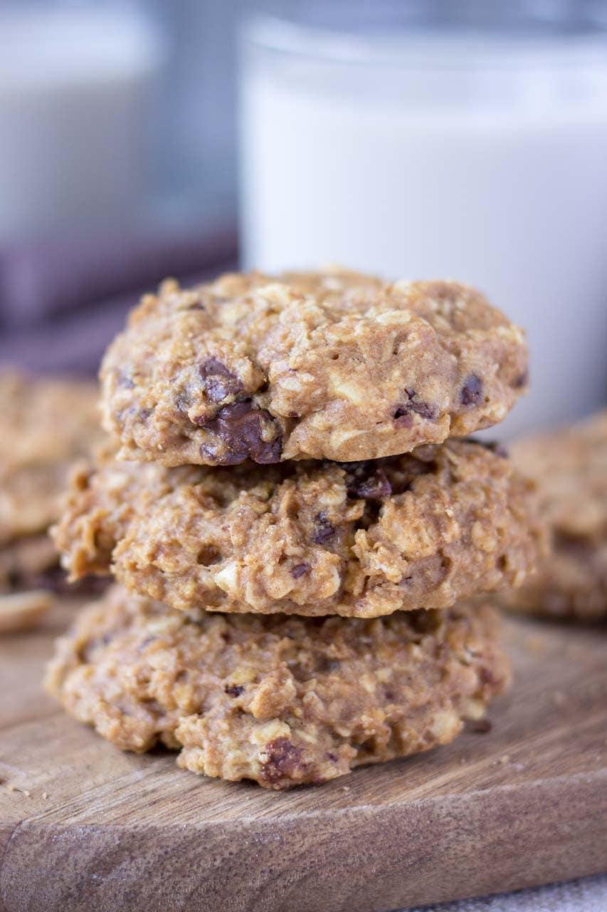 b5338e55f149 Peanut Butter Oatmeal Cookies - Natalie s Health