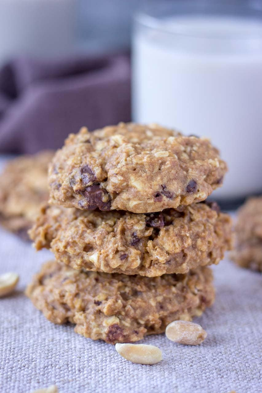 Peanut Butter Oatmeal Cookies Natalie S Health
