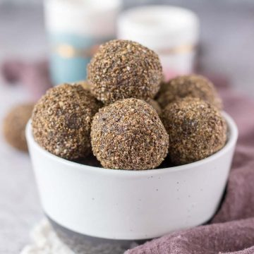 Gingerbread Energy Balls