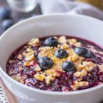 Blueberry Oatmeal Porridge