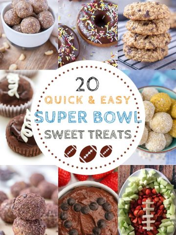 Healthy Super Bowl Desserts