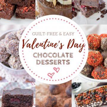 Valentines Day Chocolate Desserts