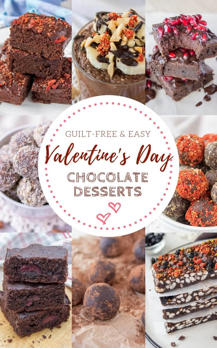 Valentines Day Chocolate Desserts