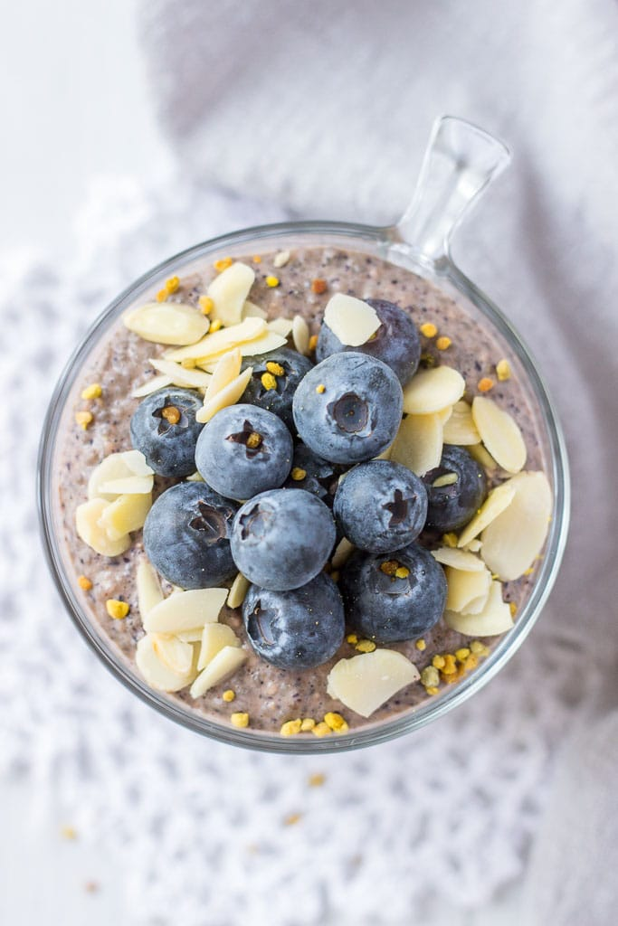 Blueberry Chia Pudding breakfast