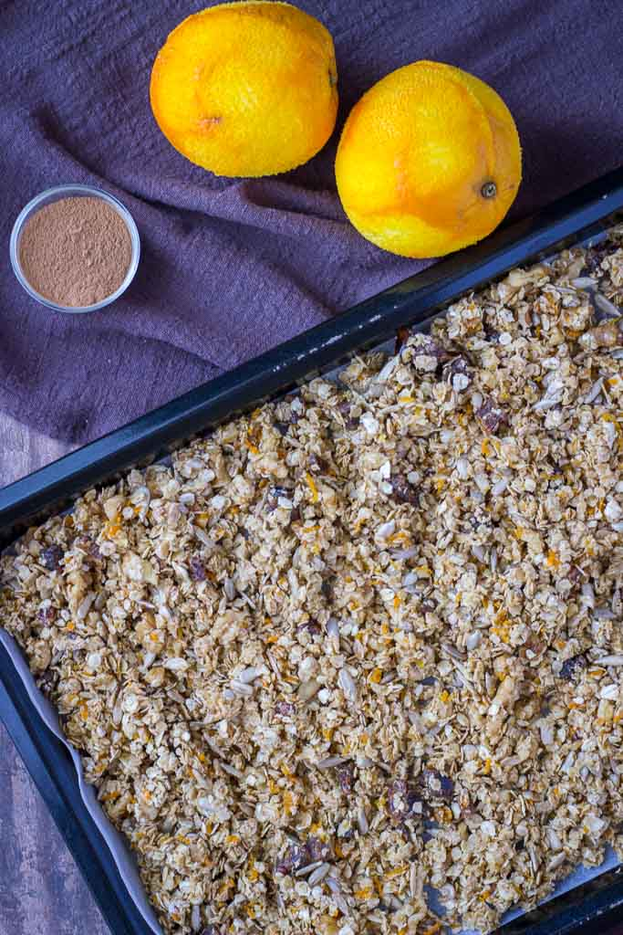 How to make Cinnamon Orange Granola