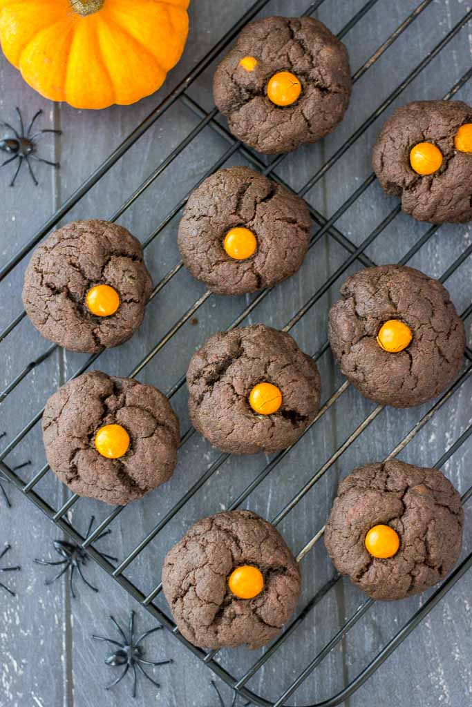 Healthy Dark Chocolate Cookies
