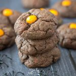 Halloween Dark Chocolate Cookies