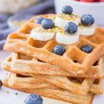 Healthy oatmeal waffle recipe