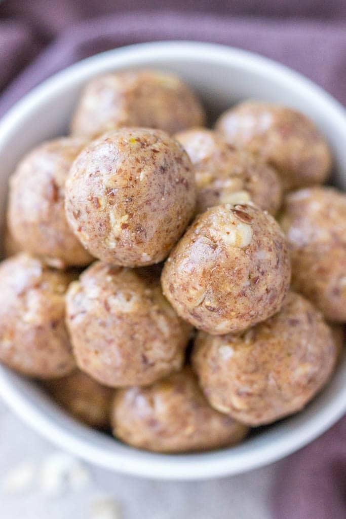 No Bake Peanut Butter Protein Balls recipe