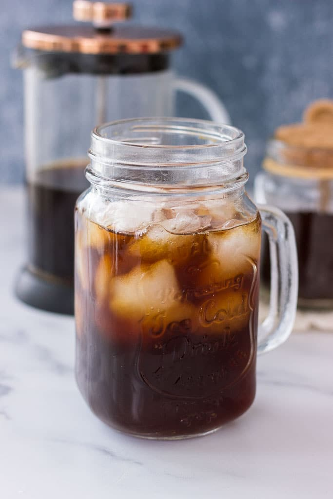 Easy Cold brew Iced Coffee recipe