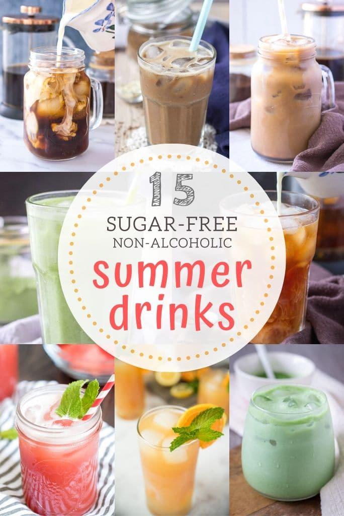 15 Sugar-Free Non-Alcoholic Refreshing Summer Drinks
