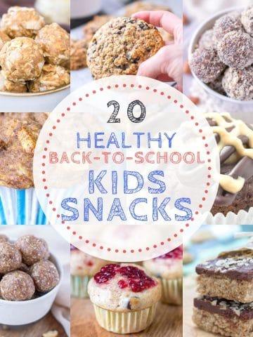 Healthy Back To School Kids Snacks
