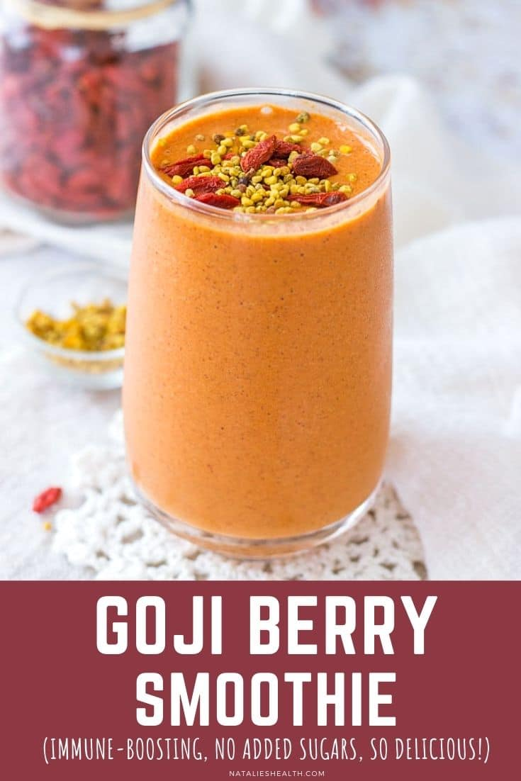 Goji Berry Smoothie PIN