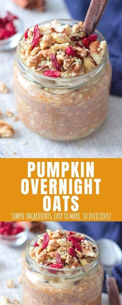 Pumpkin Overnight Oats