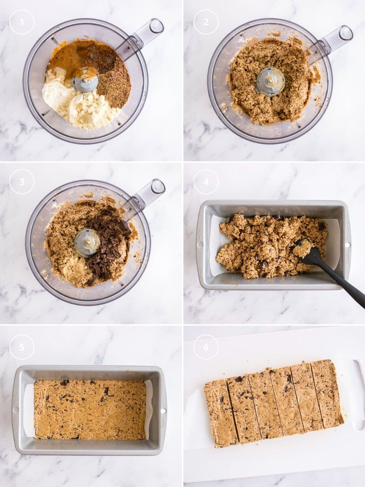 How to make Cookie Dough Protein Bars