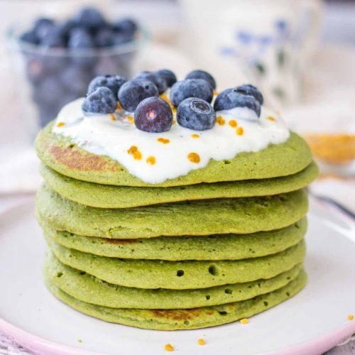 Matcha Pancakes featured image