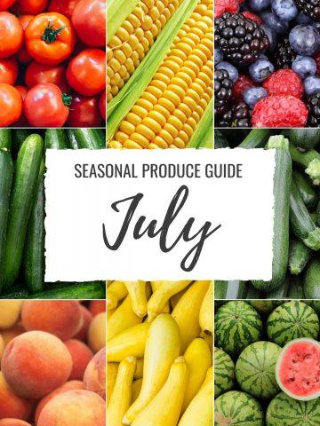 Seasonal Produce Guide What's in Season JULY