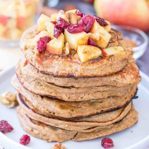 Apple Oatmeal Pancakes featured image