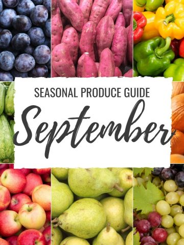 Seasonal Produce Guide What's in Season SEPTEMBER featured image