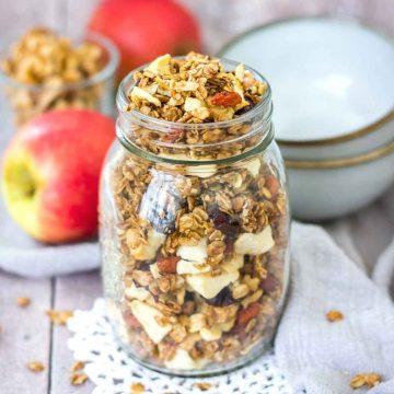 Apple Cinnamon Granola featured image